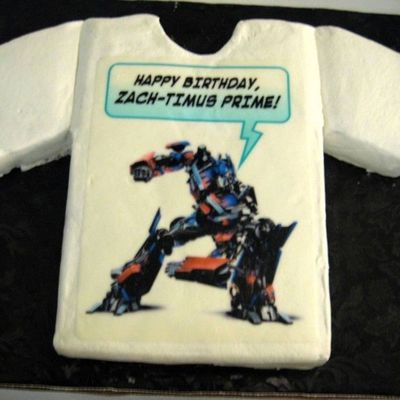 Transformer Edible Image
