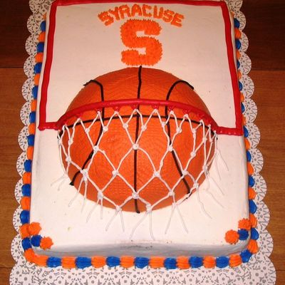 Go Orange! Syracuse University March Madness Cake
