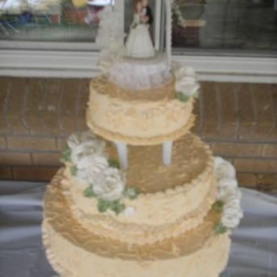 Second Wedding Cake...