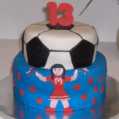 Cheer Soccer Birthday