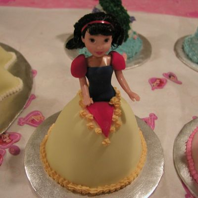 Baby Snow White Cake on Cake Central