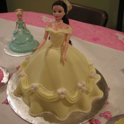 Belle Princess Cake