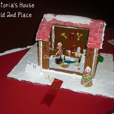 Back Of The Gingerbread House.