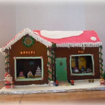Bakery Gingerbread House.