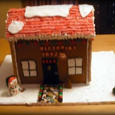 My Daughter's Gingerbread House.