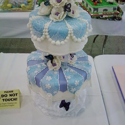 First Time Entry At Mid-Atlantic Cake Show!