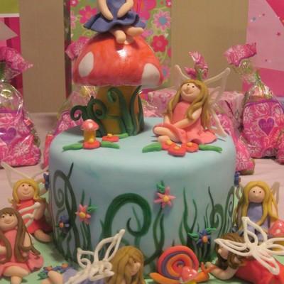 Fairy Garden Cake Decorating Photos