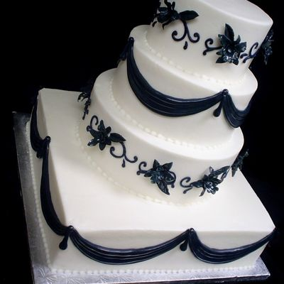 Navy Blue! on Cake Central