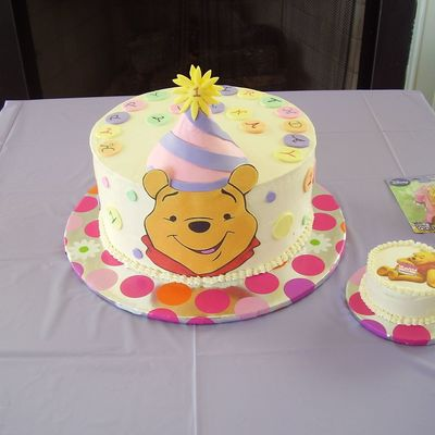 Winnie The Pooh - First B-Day
