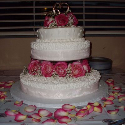 My Frist Wedding Cake