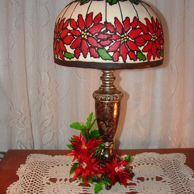 Christmas Tiffany Lamp on Cake Central
