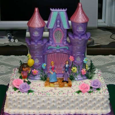 Olivia's 3Rd, B/day Cake