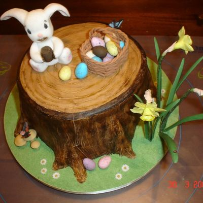 Another View Of Easter Cake