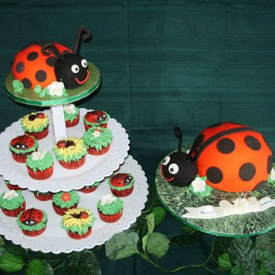 Lady Bug 1St Birthday