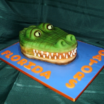 Groom's Cake - Florida Gator