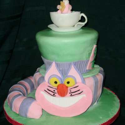 Another Cheshire Cat / Hat - Not Topsy Turvey