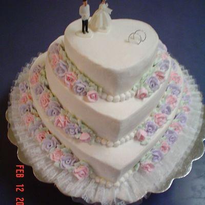 Wedding Cake Decorating Photos
