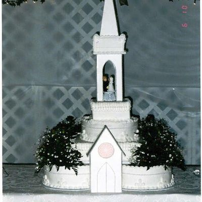Cathedral Wedding Cake