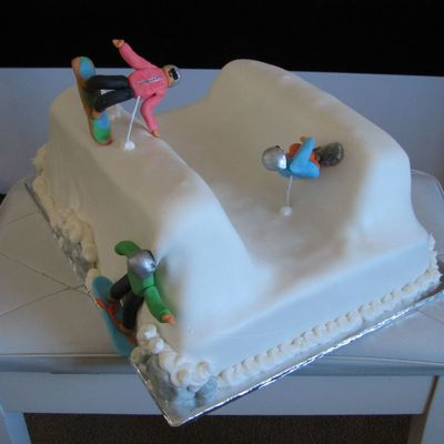 Snowboarding on Cake Central