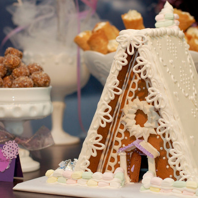 Gingerbread House For The Sugar Plum Fairy Party
