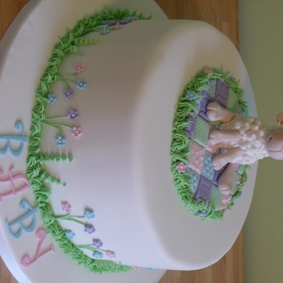 Baby Lamb Cake on Cake Central