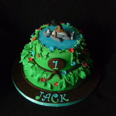 Jungle Book 1St Birthday Cake For My Grandson