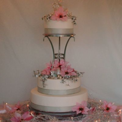 Poinsettia Wedding on Cake Central
