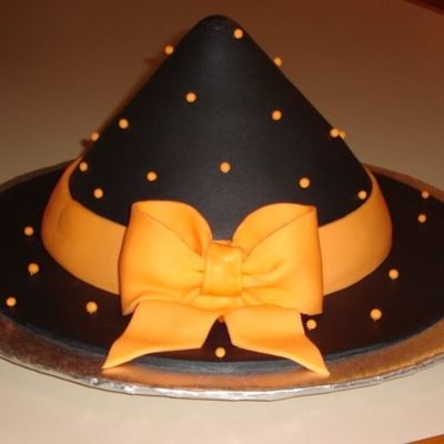 Witch's Party Hat on Cake Central