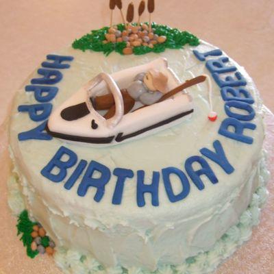 Boat Cake Decorating Photos