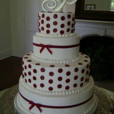 Apple Red Dots Wedding