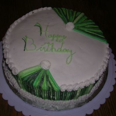 Green Pinstripe on Cake Central