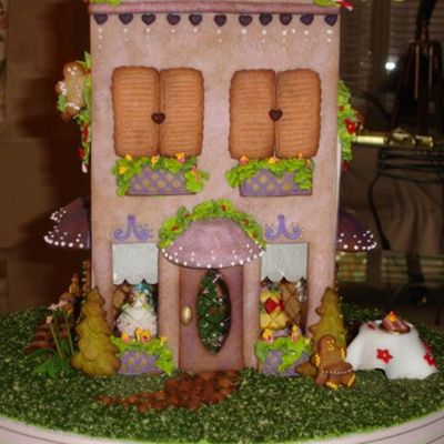 Gingerbread Cake Shop