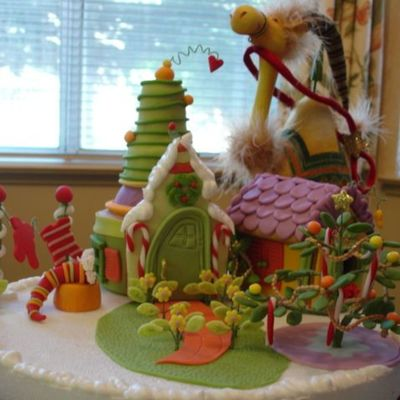 Suess Like Gingerbread House