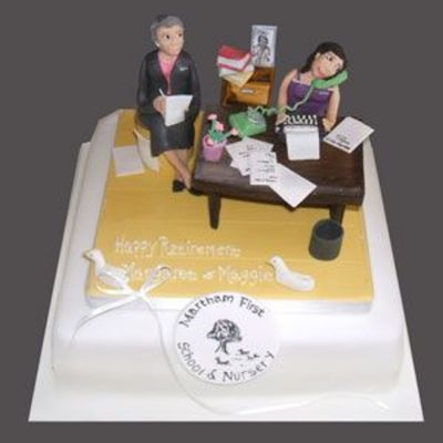 Retirement Cake Decorating Photos