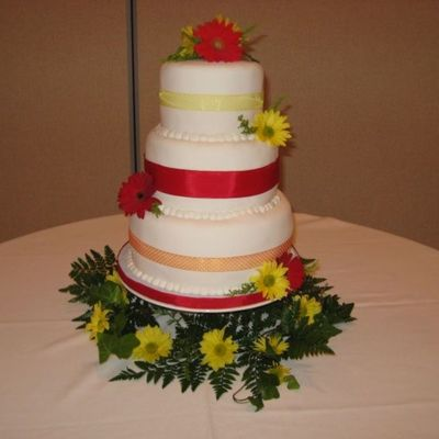 Jaci's Wedding Cake