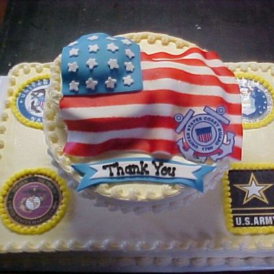 American Eurocopter Veteran's Day Cake