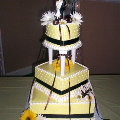 Latest Wedding Cake on Cake Central