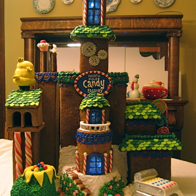 Gingerbread - Santa's Candy Factory