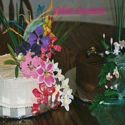 Hawaiian Themed Engagement Cakes on Cake Central
