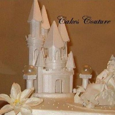 Snow Queen And Castle on Cake Central