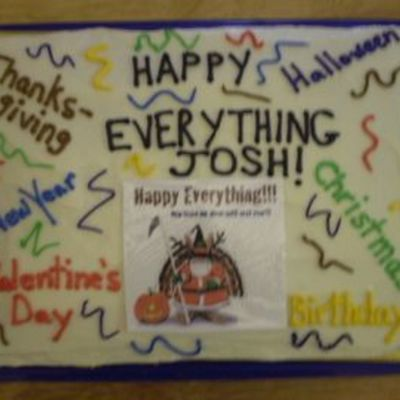 Happy Everything Cake