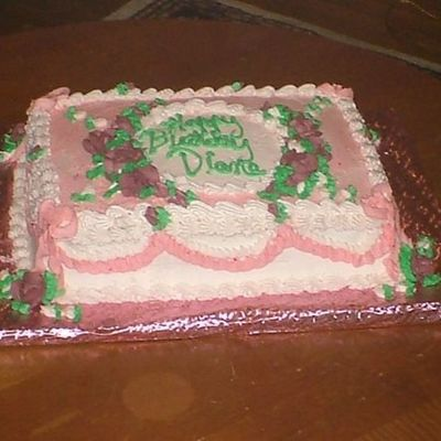 Diane's Birthday Cake
