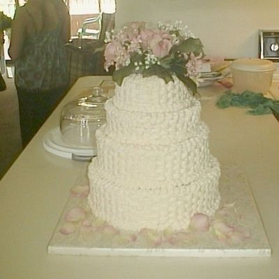 My 1St Wedding Cake