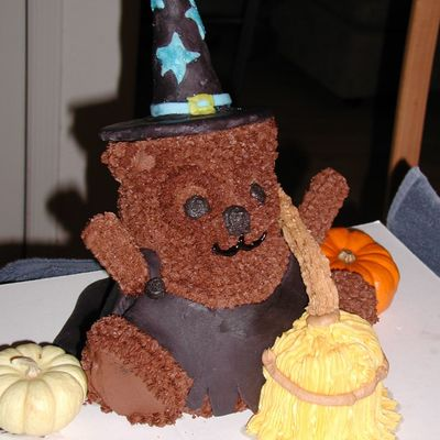 Bear Witch Cake on Cake Central