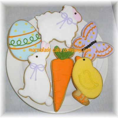 Easter/spring Cookie Assortment