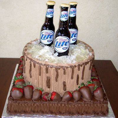 Beer Bottle Cake Decorations Captivating Beer Bottle Cake Decorating Photos Inspiration Design