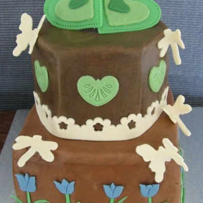 Green Valentine on Cake Central