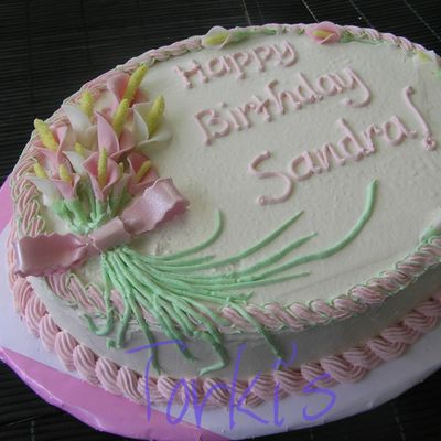 Female Birthday Cake