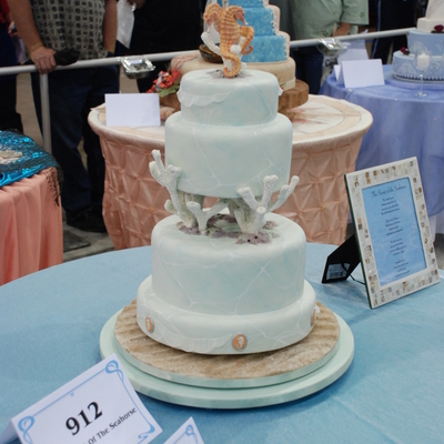 The Secret Of The Seahorse on Cake Central