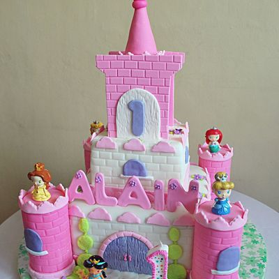Alain's Disney Princess Castle